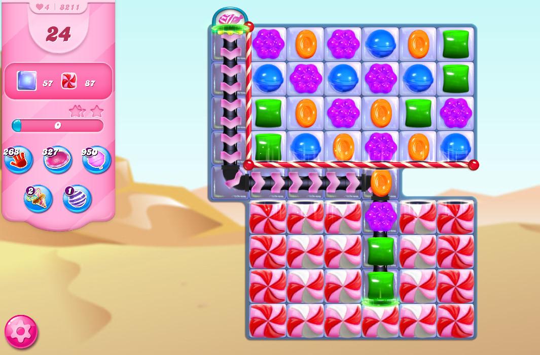 Candy Crush Saga level 8211