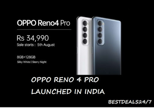 Oppo Reno 4 Pro launched in India