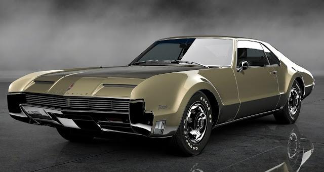 Oldsmobile Toronado 1960s American classic car