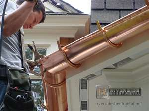 Siding Roofing And Gutter Solutions By Dan Copper Gutters