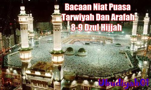 Niat Puasa Sunnah Idul Adha Tarwiyah Dan Arafah Lengkap Dengan Artinya