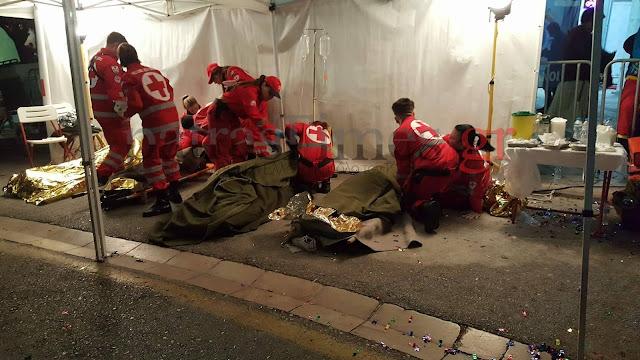 130 άτομα στο Πατρινό καρναβάλι κατέληξαν στο νοσοκομείο λόγω μέθης