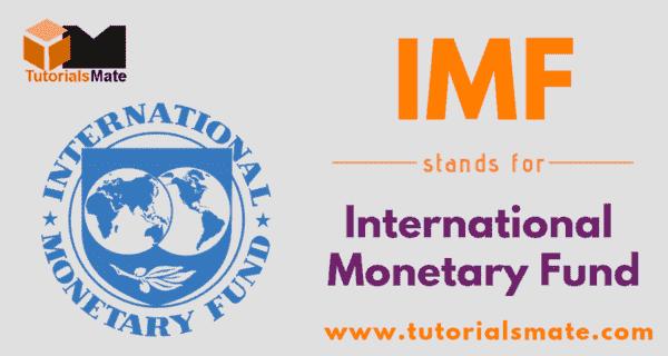IMF Full Form