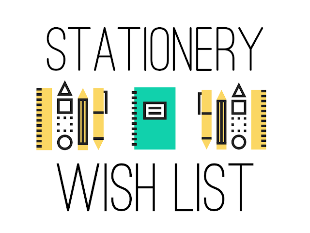 Stationery Wishlist Header