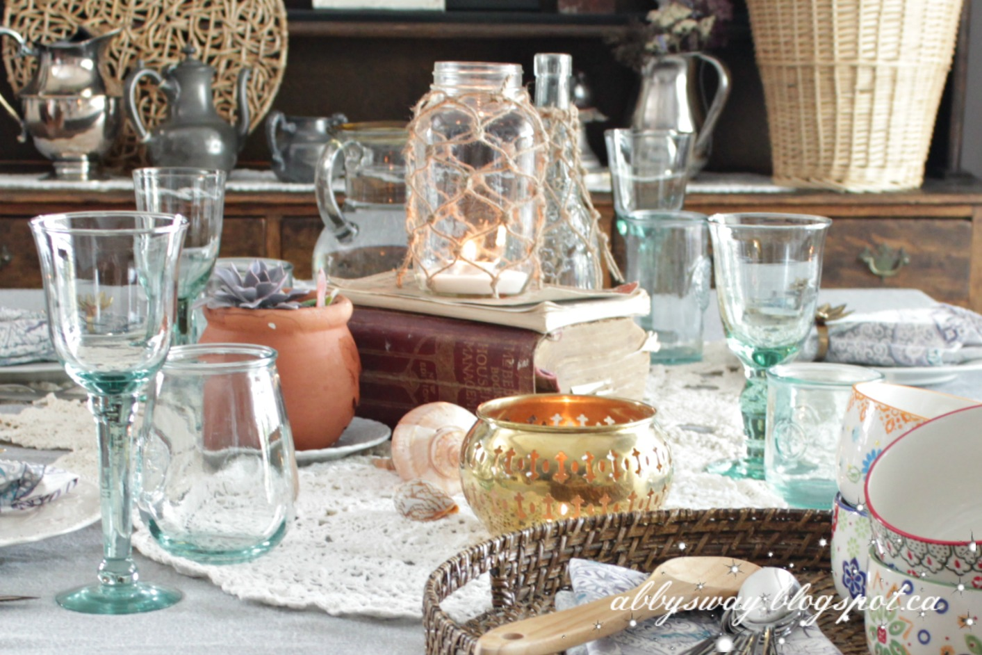 Boho Table Setting