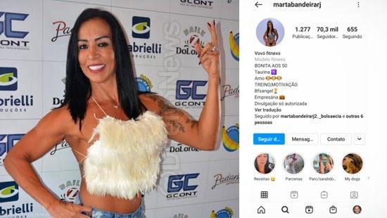 conta blogueira condena instagram danos morais