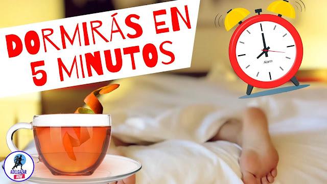 Té Natural para Relajarte en 5 Minutos y Dormir Rápido