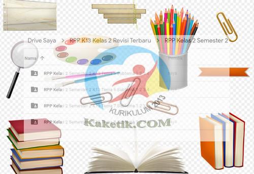 RPP K13 Kelas 2 Semester 2 Revisi 2019 Semua Tema Subtema Pembelajaran Lengkap kaketik.com