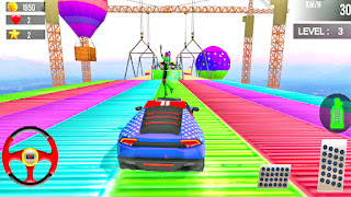 Ramp Stunt Car Racing Games