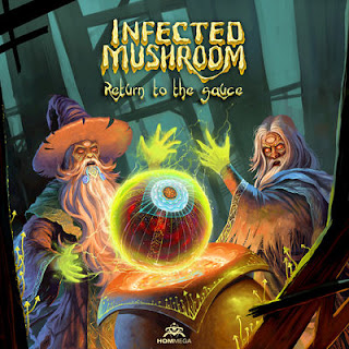Infected Mushroom - Return To The Sauce (2017) - Album Download, Itunes Cover, Official Cover, Album CD Cover Art, Tracklist