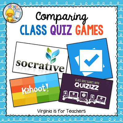 Class Quiz Games are a fun and engaging way to review for a test! This post compares 4 different games/assessment tools to help you choose the right one.