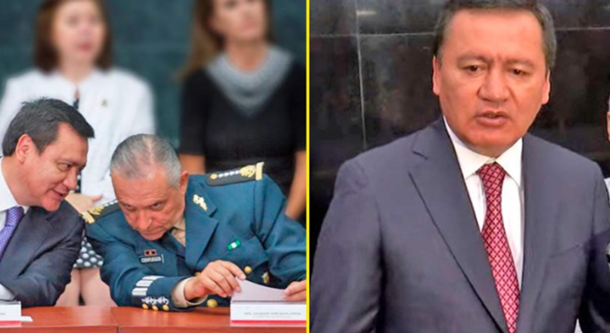 Chong sale a defender a Cienfuegos: Capos detenidos están mintiendo para ensuciar a Cienfuego; él es una persona honesta e intachable