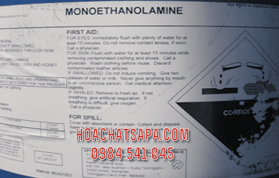 dung moi cong nghiep Monoethanolamine MEA