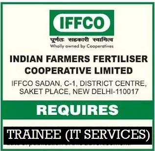 IFFCO Trainee (IT Services) Vacancy 2020