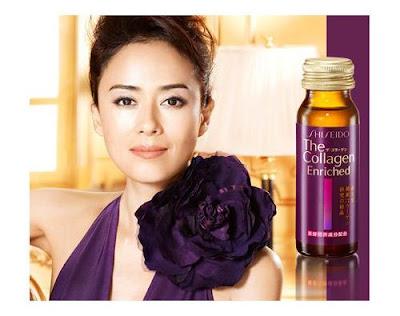 Sử dụng shiseido the collagen enriched dạng nước đúng cách