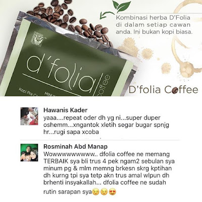 D'Folia Coffee sendayu tinggi