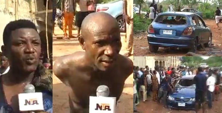 Pastor allegedly sends kidnappers to abduct another pastor  (Video)
