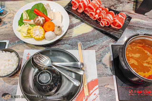Tong Yang Personal Hotpot - The Rise, Makati