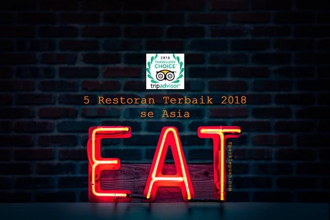 5 Restoran Terbaik 2018 se Asia versi Tripadvisor