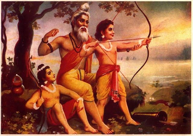 Ramayan लव-कुश महर्षि वाल्मीकि