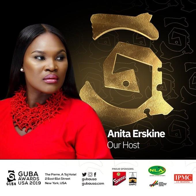 Anita Erskine to host GUBA USA Awards 2019 in New York
