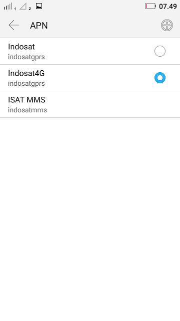 Trik Setting APN Indosat 4g Tercepat 2020