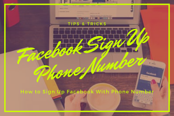 Facebook Sign Up Phone Number