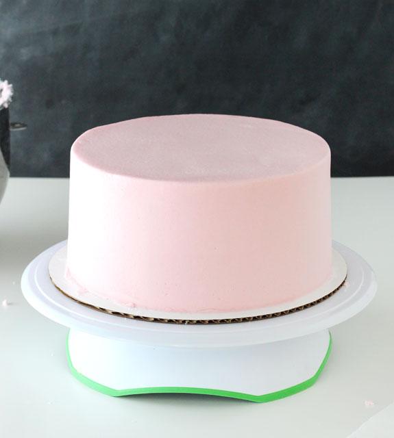 Масляный крем для выравнивания торта