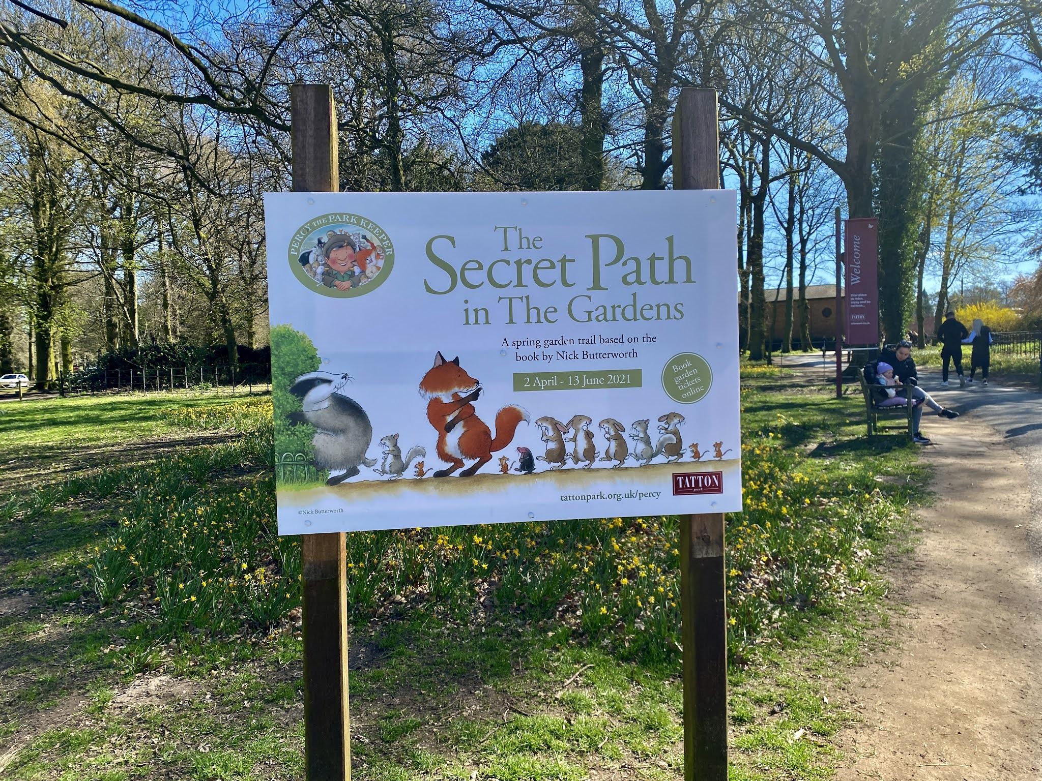 The secret path sign