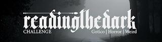 Readingthedarkchallenge - Libri consigliati Gotico | Horror | Weird reading challenge [consigli]
