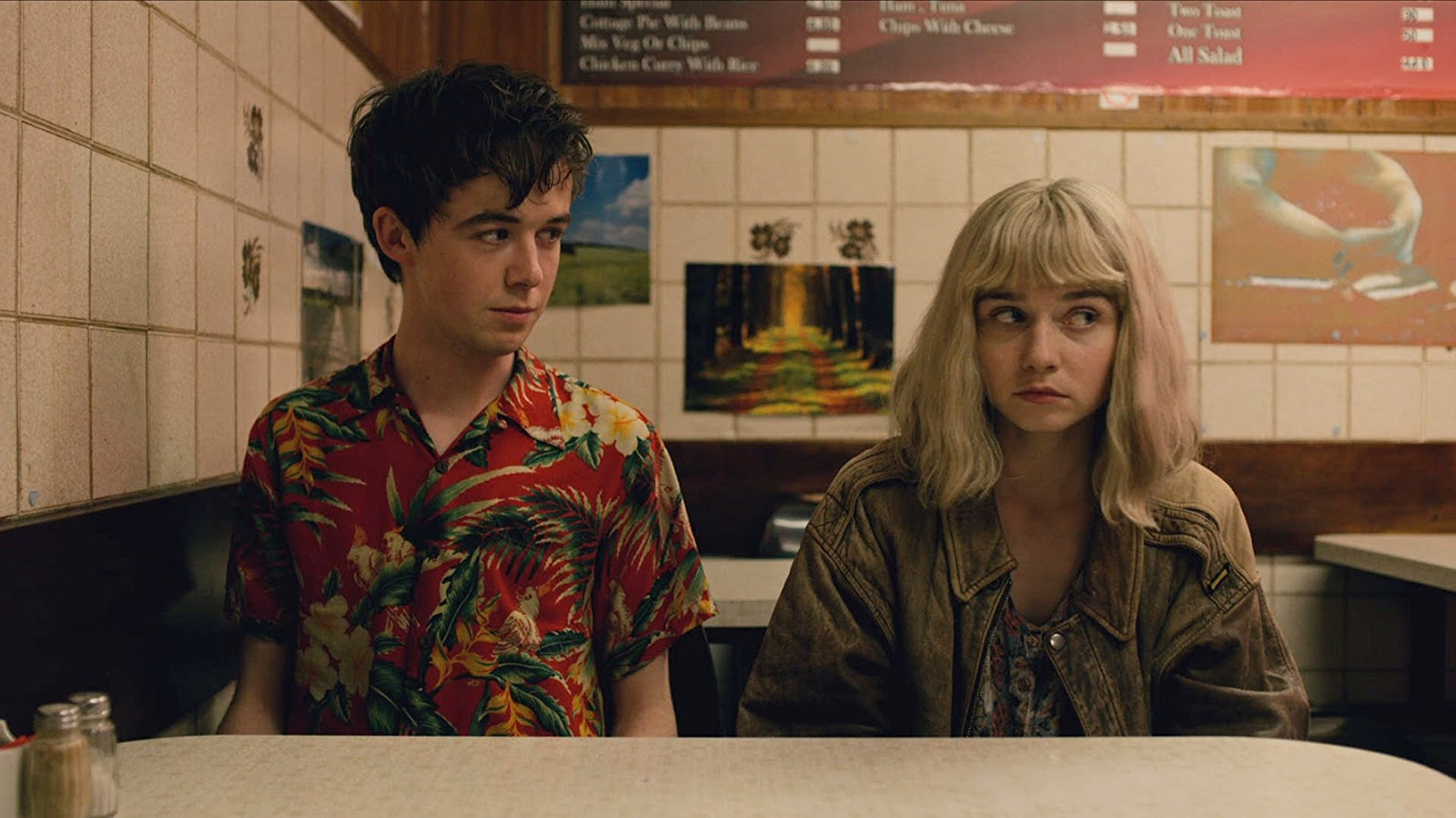 James y Alyssa en 'The End of the F***ing World'