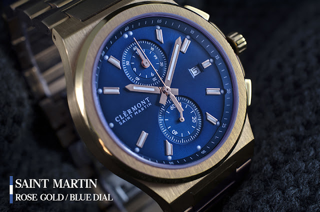 Antoine Clérmont Saint Martin blue gold