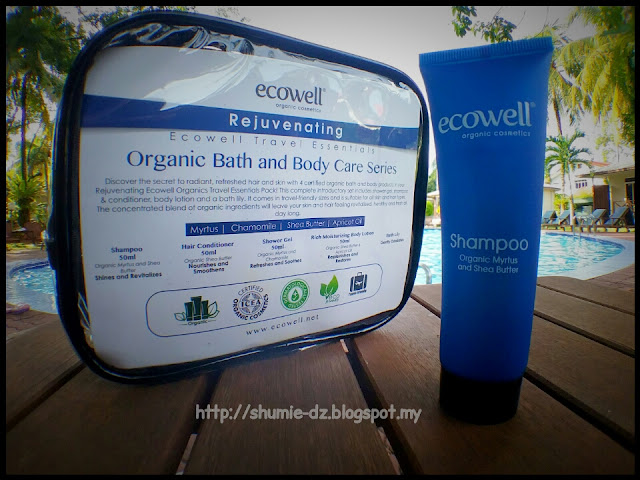 Ecowell - Travel Essentials Organic Bath and Body Care series : SHAMPOO