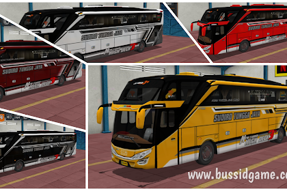 Koleksi Livery Bus STJ JB3+ SHD Ori Facelift By Blahbloh