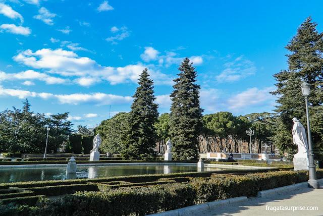 Madri, Jardins de Sabatini