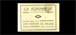 """Publicidad de """"La Adrianesa"""" (1926)"""