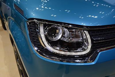 New 2016 Maruti Suzuki Ignis Headlight