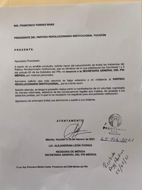 Ale León se declara regidora independiente; reflexiona sobre invitaciones
