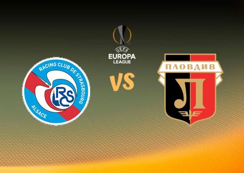 Strasbourg vs Lokomotiv Plovdiv  Resumen