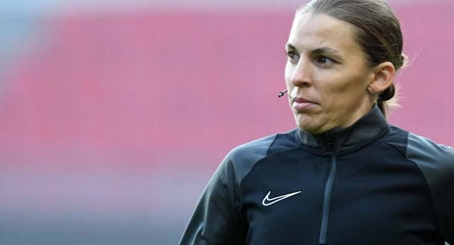 France's Frappart To Become First Woman To Referee Men's Champions League Game (AFP)