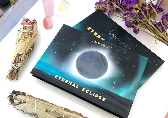 Lunar Beauty Eternal Eclipse Palette Swatches