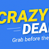 Flipkart CRAZY DEALS – Ultra Deep-discounted Products (Limited Stocks)
