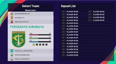 Indonesia league pes21 sp21