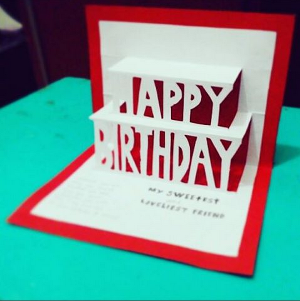 Kartu Ucapan Pop Up 3d Gift Card Pop Up 3d Halyangkusuka