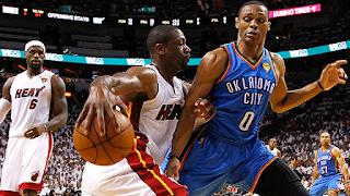 BALONCESTO (Finales NBA 2012) - Game 3: LeBron y Dwyane Wade se combinan para 54 puntos y ponen el 2-1