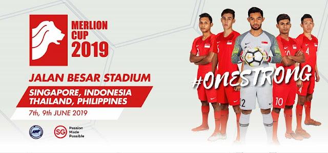 Jadwal Timnas Indonesia U-23 di Merlion Cup 2019 Singapura - Live Indosiar