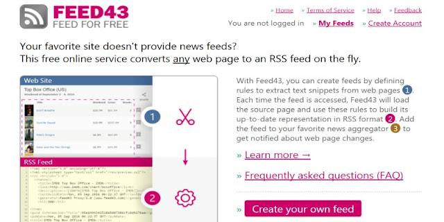 feed43-custom-feed-PTT 停止 RSS 功能後,如何繼續訂閱個版文章﹍FEED43 自製 RSS 教學