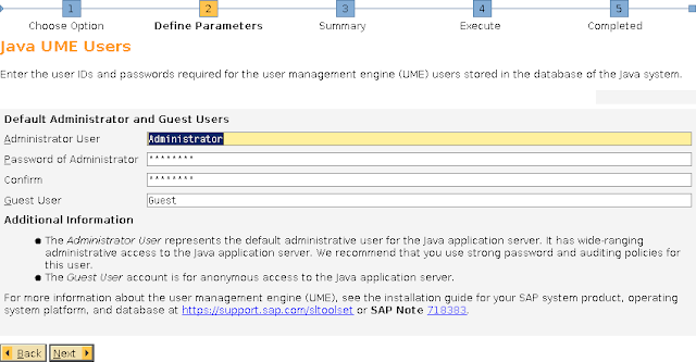 Installation of SAP Netweaver 7 3 EHP1 JAVA - SAP4ADMIN