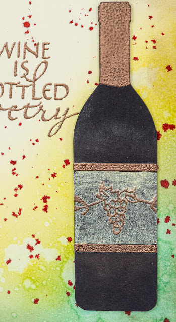 Quietfire Design / Wine is Sunlight / card designed by Kim Gowdy