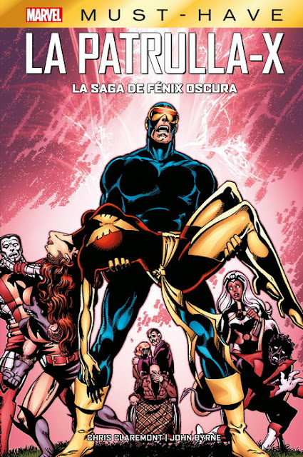 Review del cómic Marvel- Must-Have La Patrulla-X: La saga de Fénix Oscura de Chris Claremont y John Byrne - Panini Comics